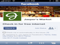 Why Facebook is giving out free Wi-Fi for check-ins