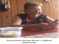 Granny hits it big on Internet after voicing displeasure with Siri