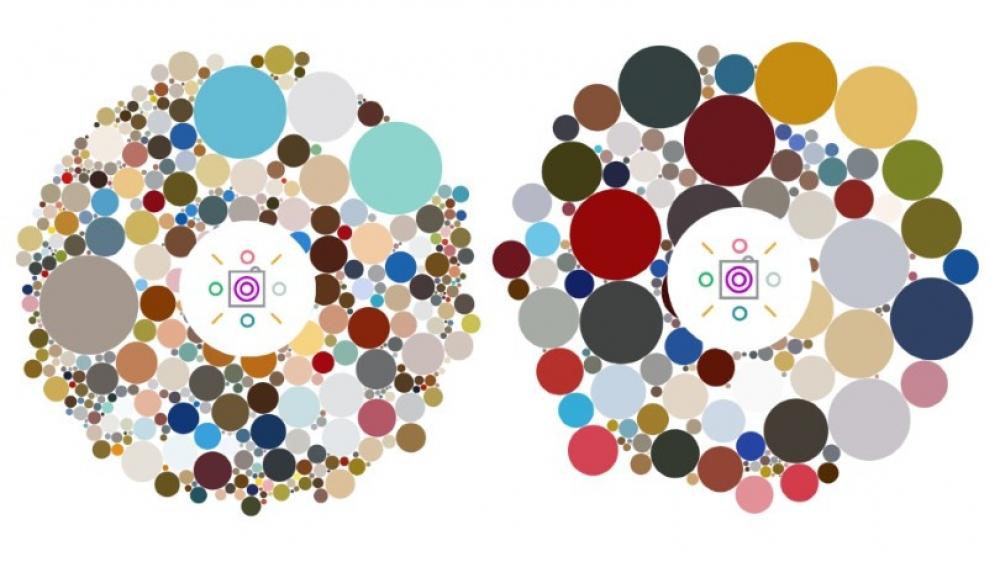 New App Visualizes Your Instagram Color Scheme