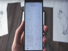 Trace Drawings from Your Phone onto Paper