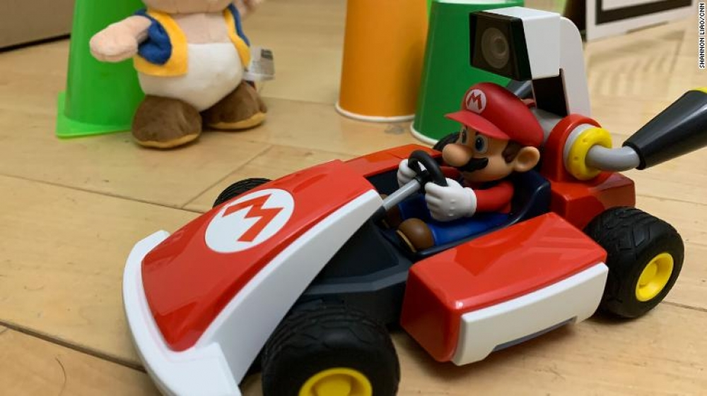 You can soon drive a real-life Mario Kart around your home using the Nintendo Switch