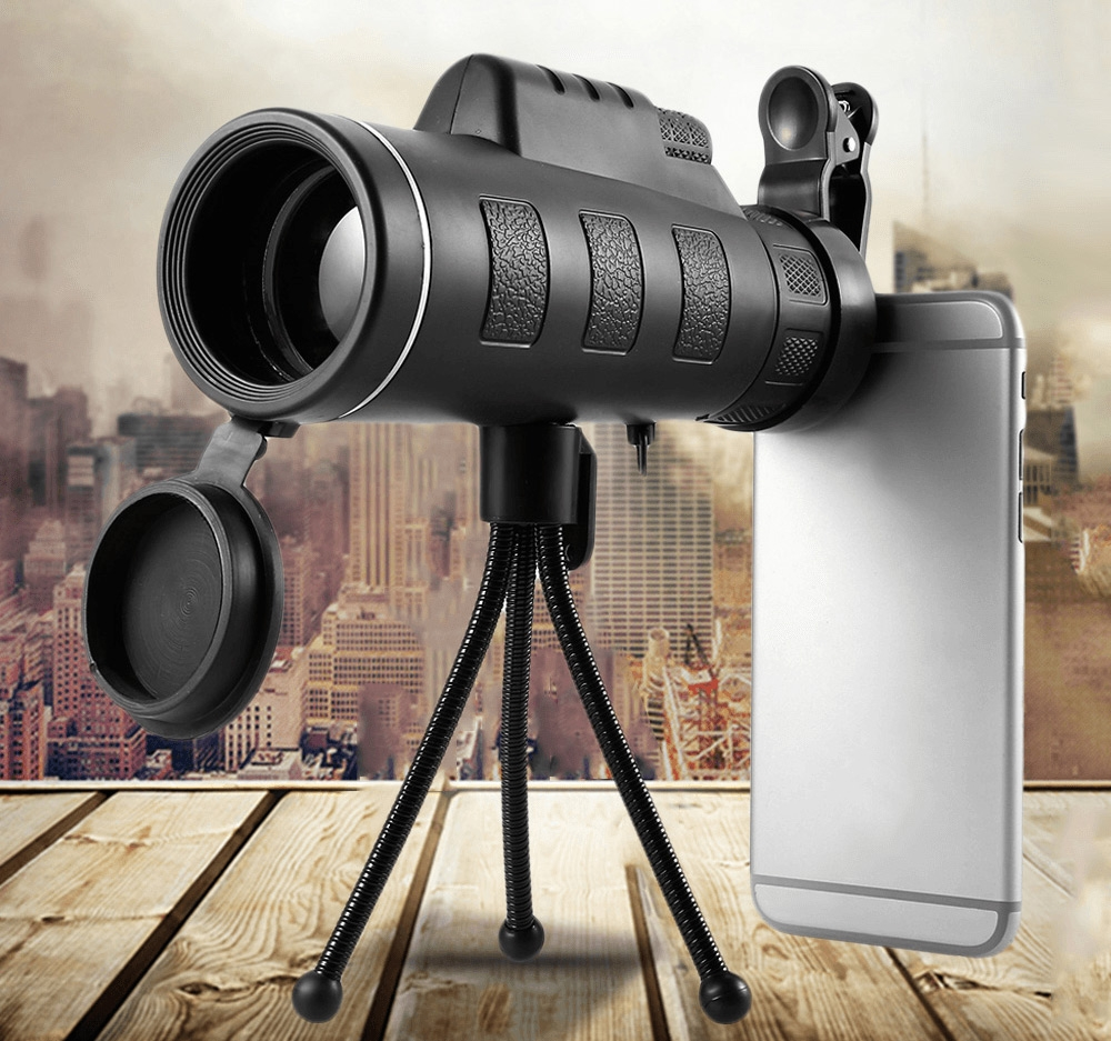 StarScope: Take Impressive Professional-Looking Photos With This 4K Monocular Telescope for Smartphone !