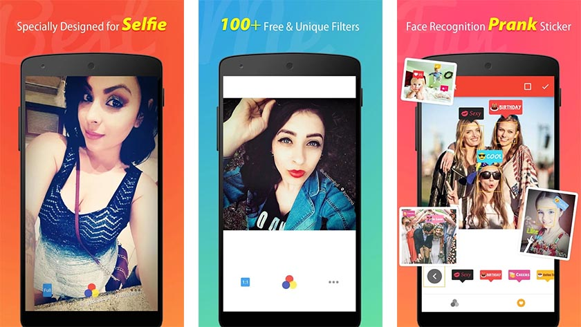 BestMe best camera apps for Android